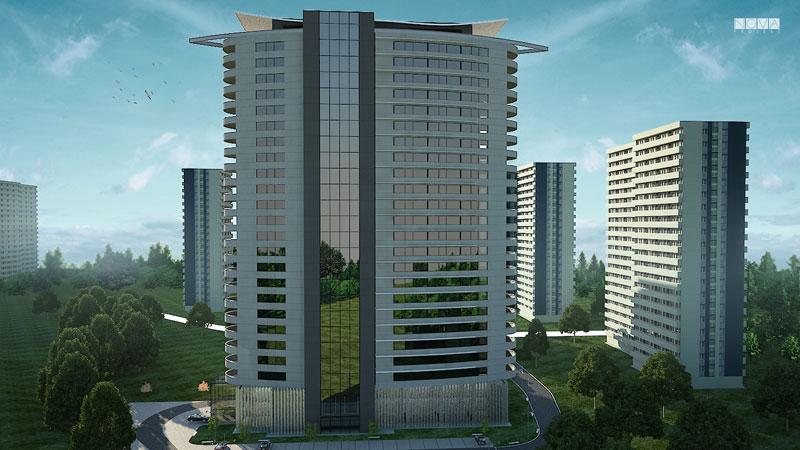 Apartamentowiec Katowice