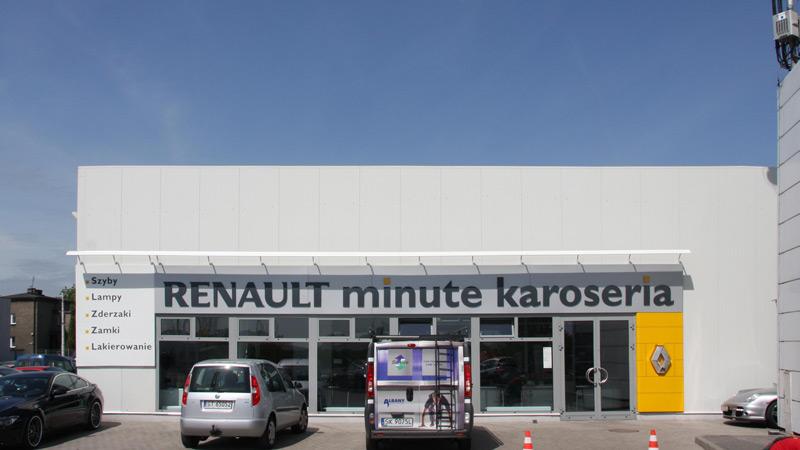 Serwis Renault, Katowice