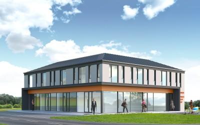 Pozwolenie na budowę dla budynku biurowo-handlowo-usługowego w Tarnowskich Górach