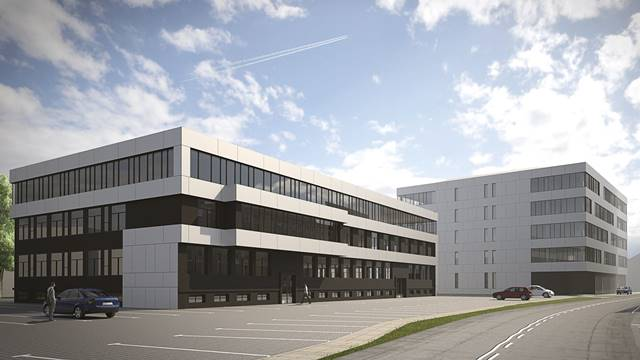Kompleks biurowo-usługowy w Gliwicach