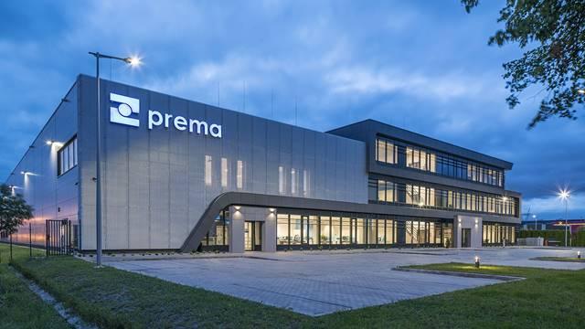 Budynek biurowo-magazynowy w Warszawie