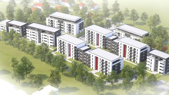 Osiedle mieszkaniowe wielorodzinne w Katowicach